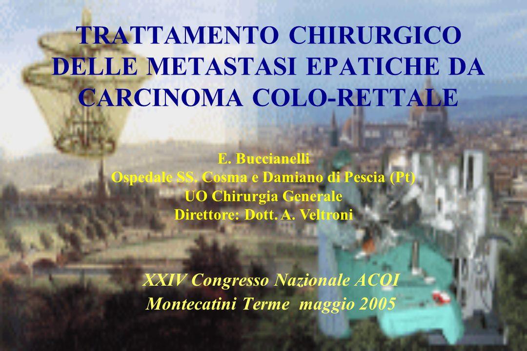 XXIV Congresso Nazionale ACOI Montecatini Terme maggio 2005