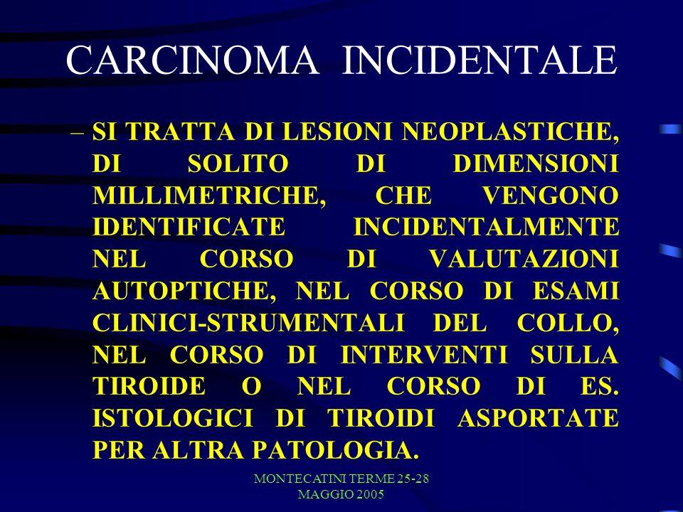 CARCINOMA INCIDENTALE