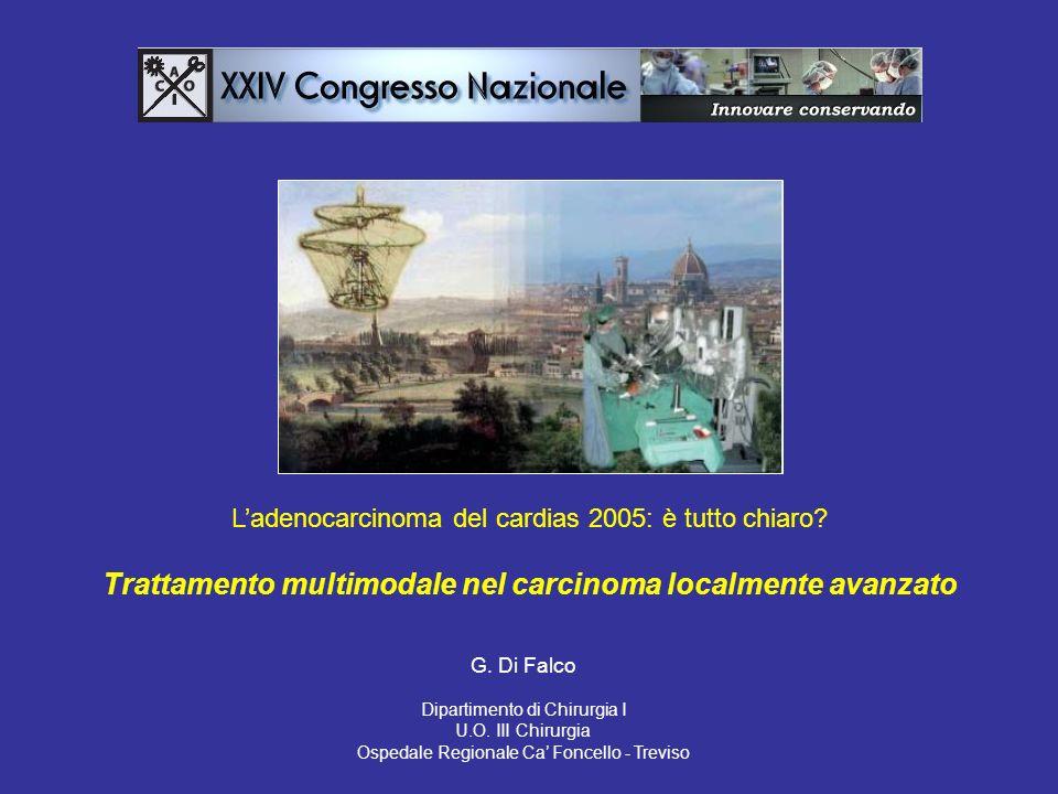 Trattamento multimodale nel carcinoma localmente avanzato