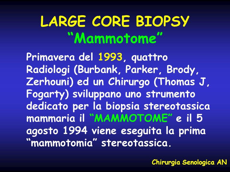 LARGE CORE BIOPSY Mammotome