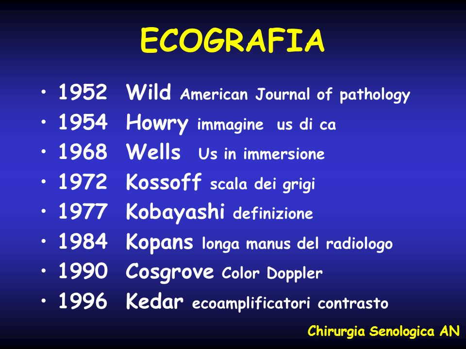 ECOGRAFIA 1952 Wild American Journal of pathology