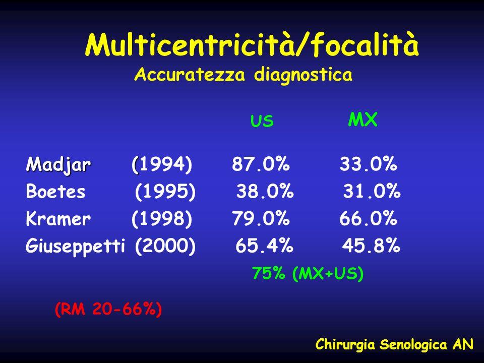 Multicentricità/focalità