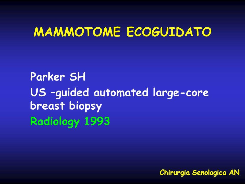 MAMMOTOME ECOGUIDATO Parker SH