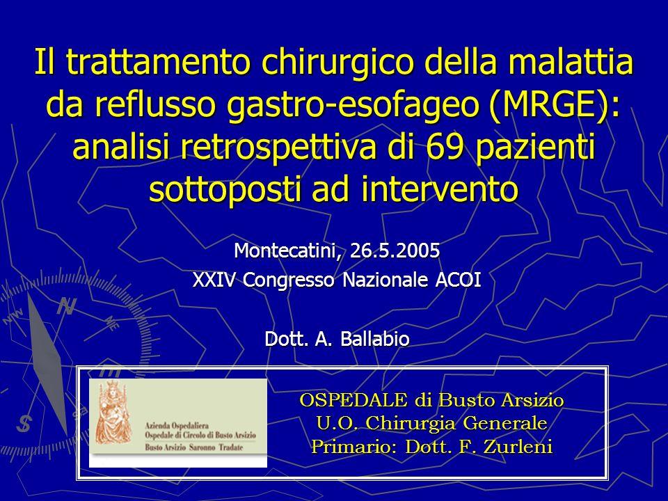 Montecatini, 26.5.2005 XXIV Congresso Nazionale ACOI Dott. A. Ballabio