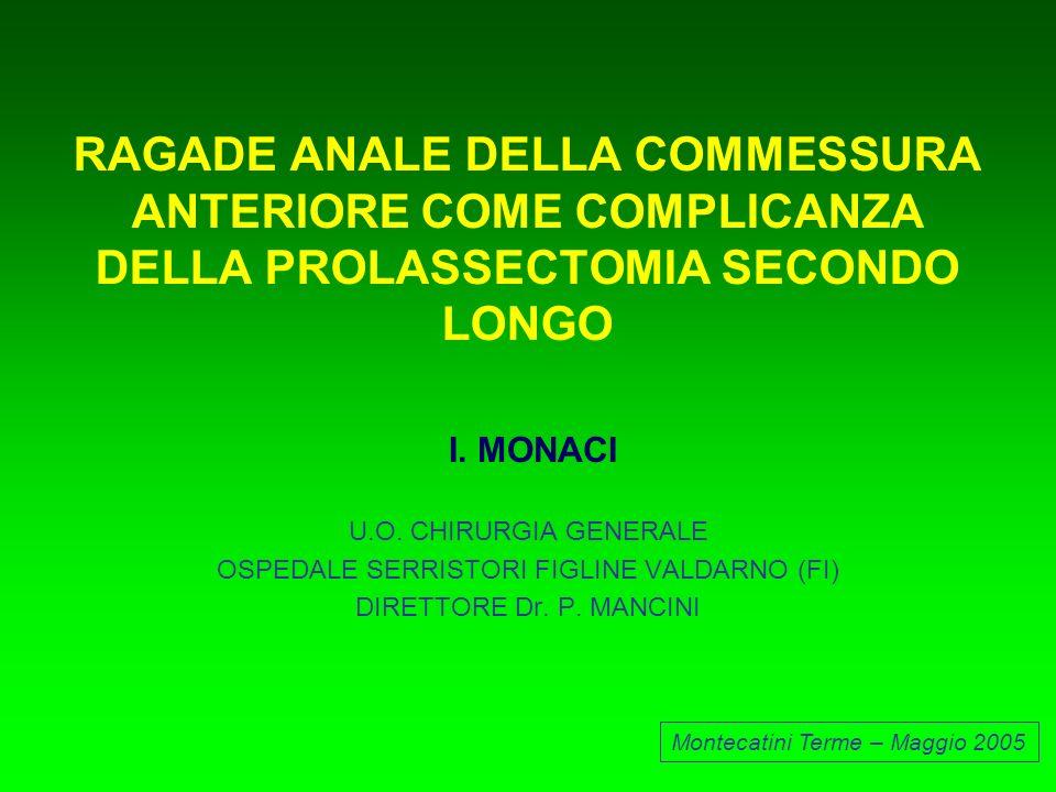 OSPEDALE SERRISTORI FIGLINE VALDARNO (FI)