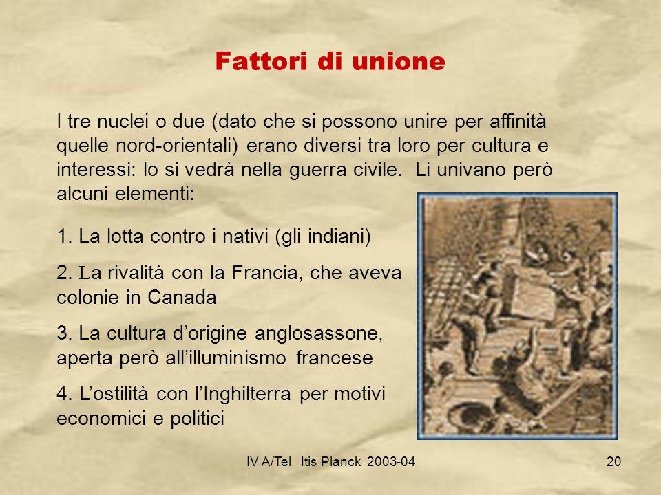 Fattori di unione