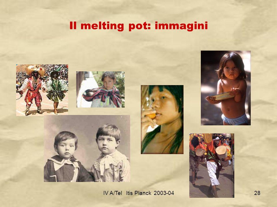 Il melting pot: immagini