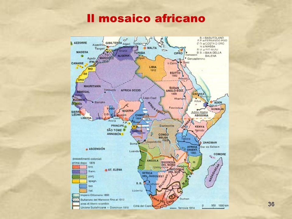 Il mosaico africano IV A/Tel Itis Planck 2003-04