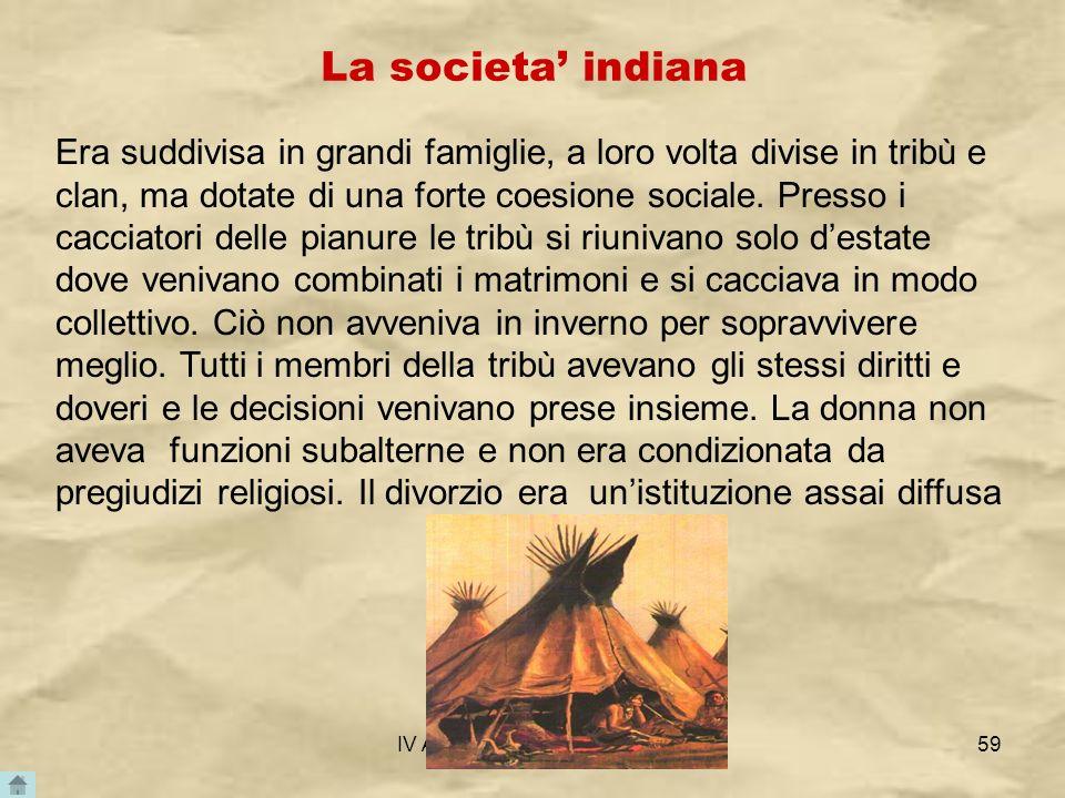 La societa' indiana