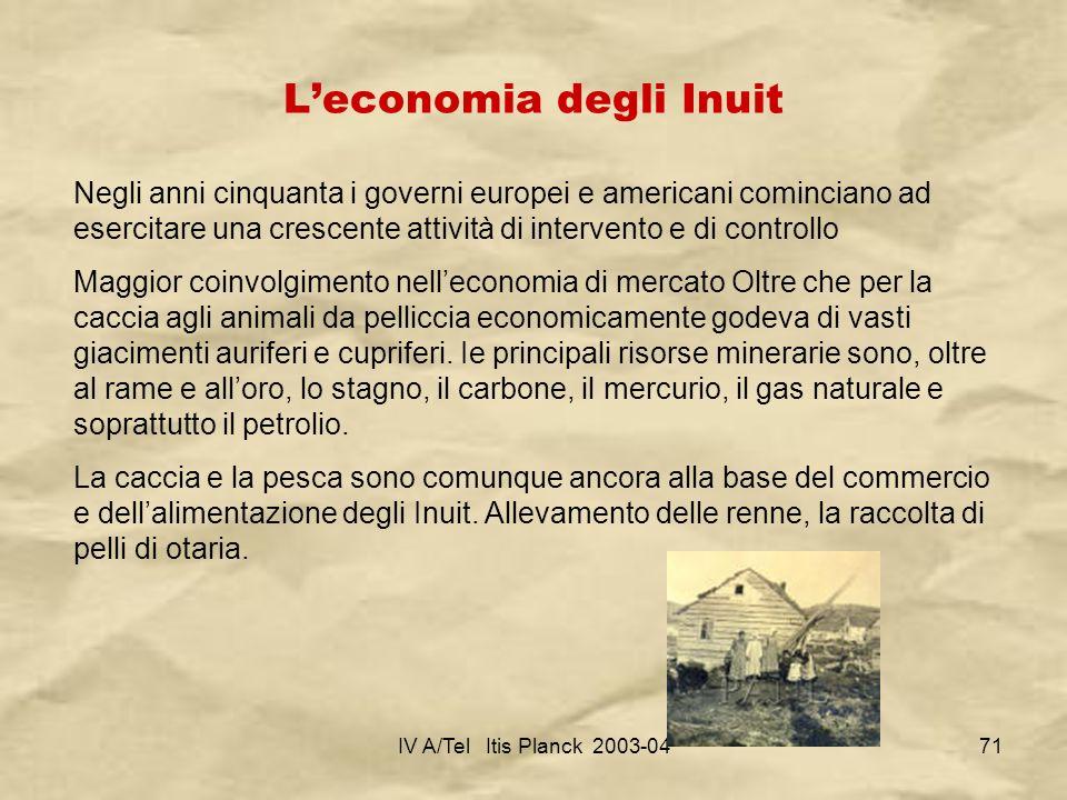 L'economia degli Inuit