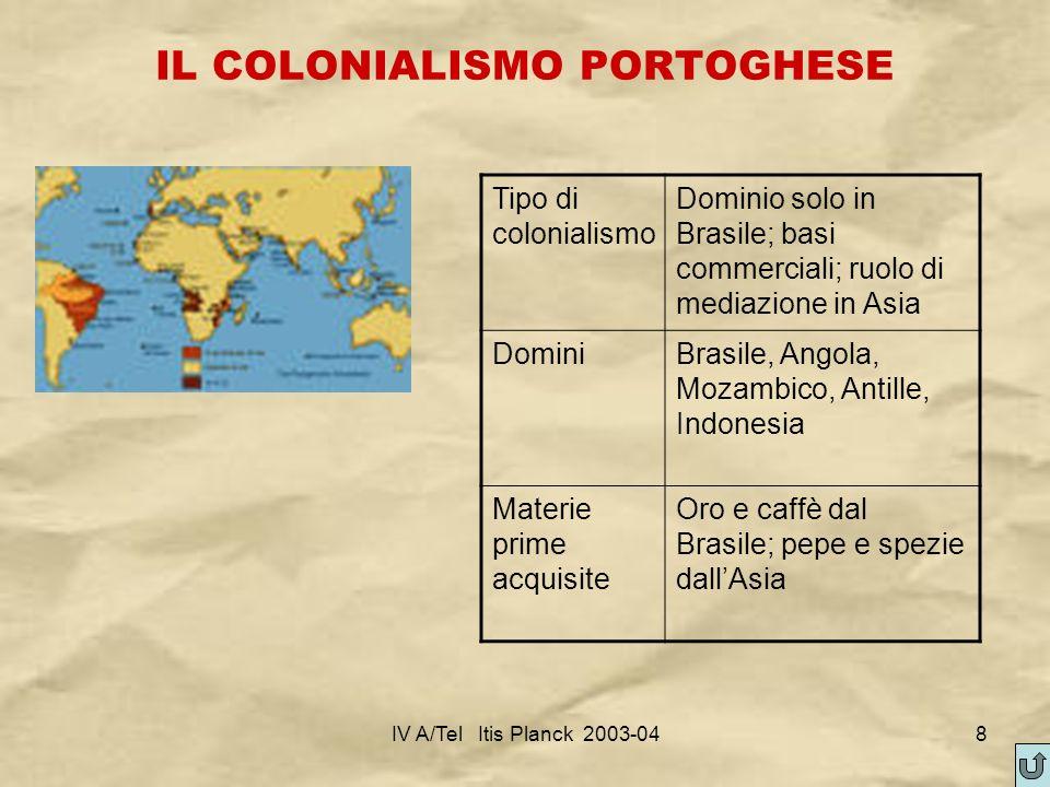 IL COLONIALISMO PORTOGHESE