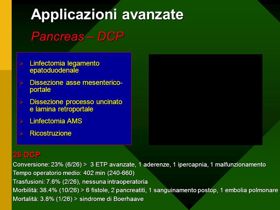 Applicazioni avanzate Pancreas – DCP