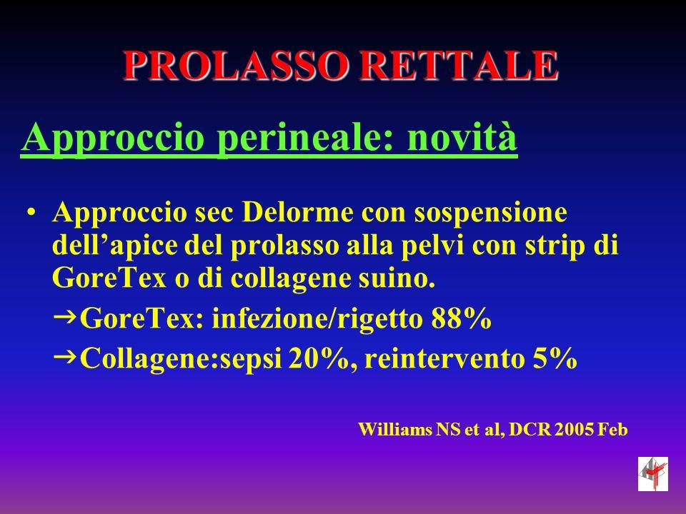 Approccio perineale: novità