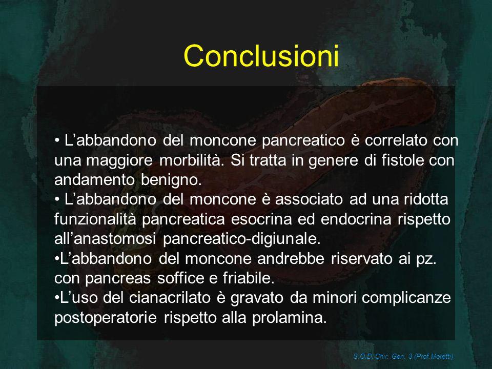 S.O.D. Chir. Gen. 3 (Prof.Moretti)
