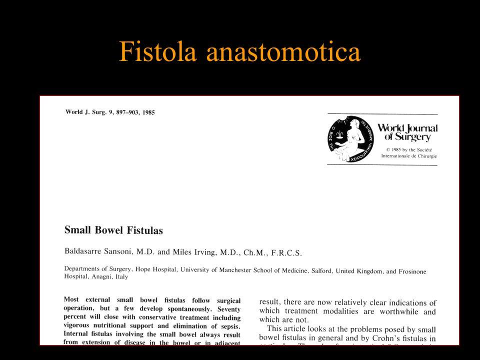 Fistola anastomotica