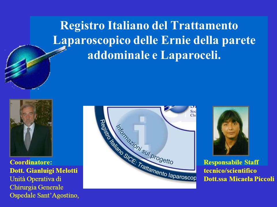Registro Italiano del Trattamento Laparoscopico delle Ernie della parete addominale e Laparoceli.