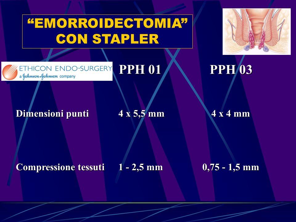 EMORROIDECTOMIA CON STAPLER