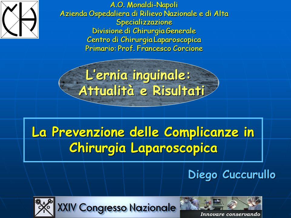 La Prevenzione delle Complicanze in Chirurgia Laparoscopica