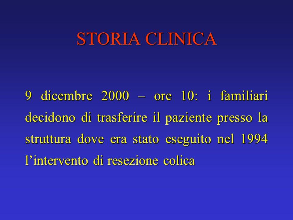 STORIA CLINICA
