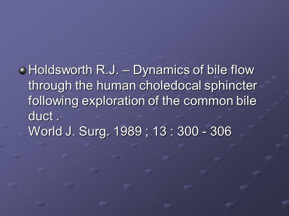 Holdsworth R.J.