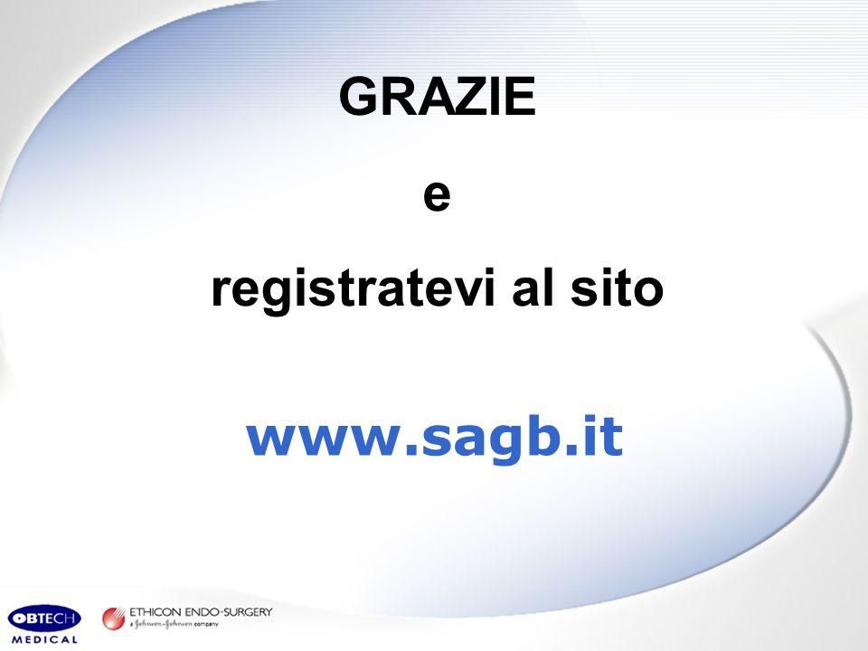 GRAZIE e registratevi al sito www.sagb.it