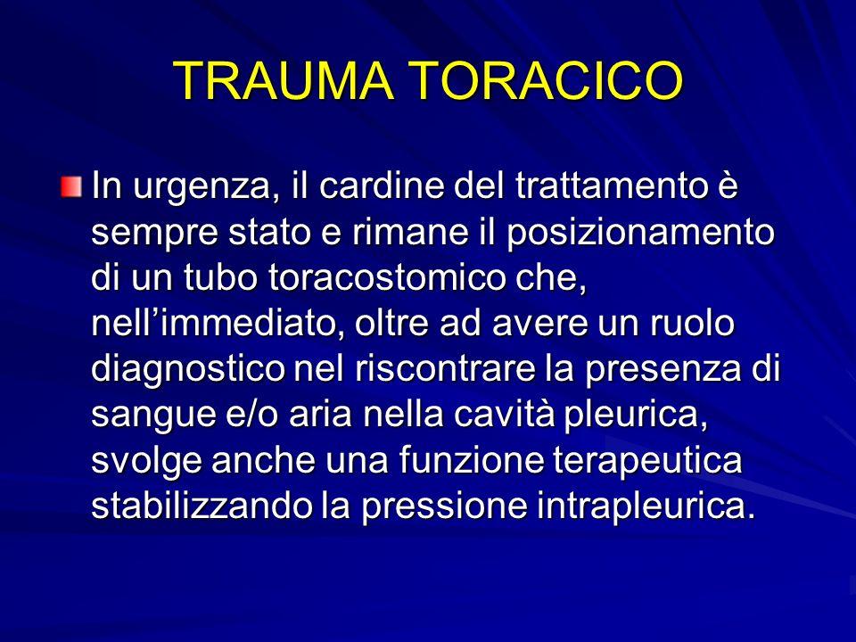 TRAUMA TORACICO