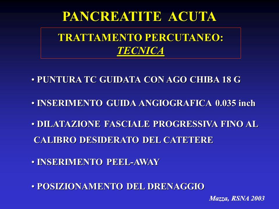 TRATTAMENTO PERCUTANEO: