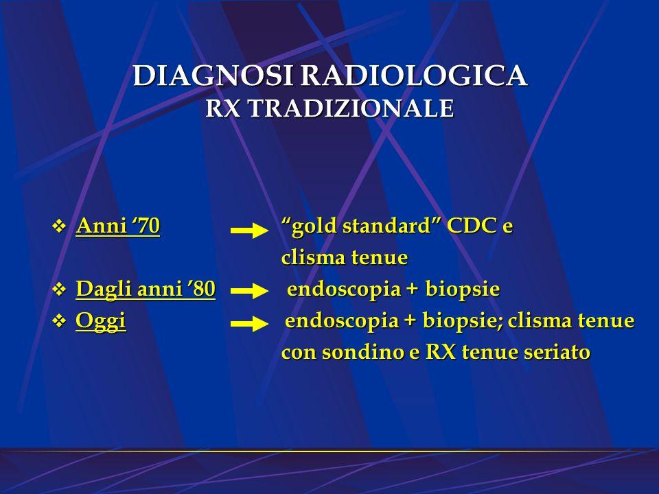 DIAGNOSI RADIOLOGICA RX TRADIZIONALE