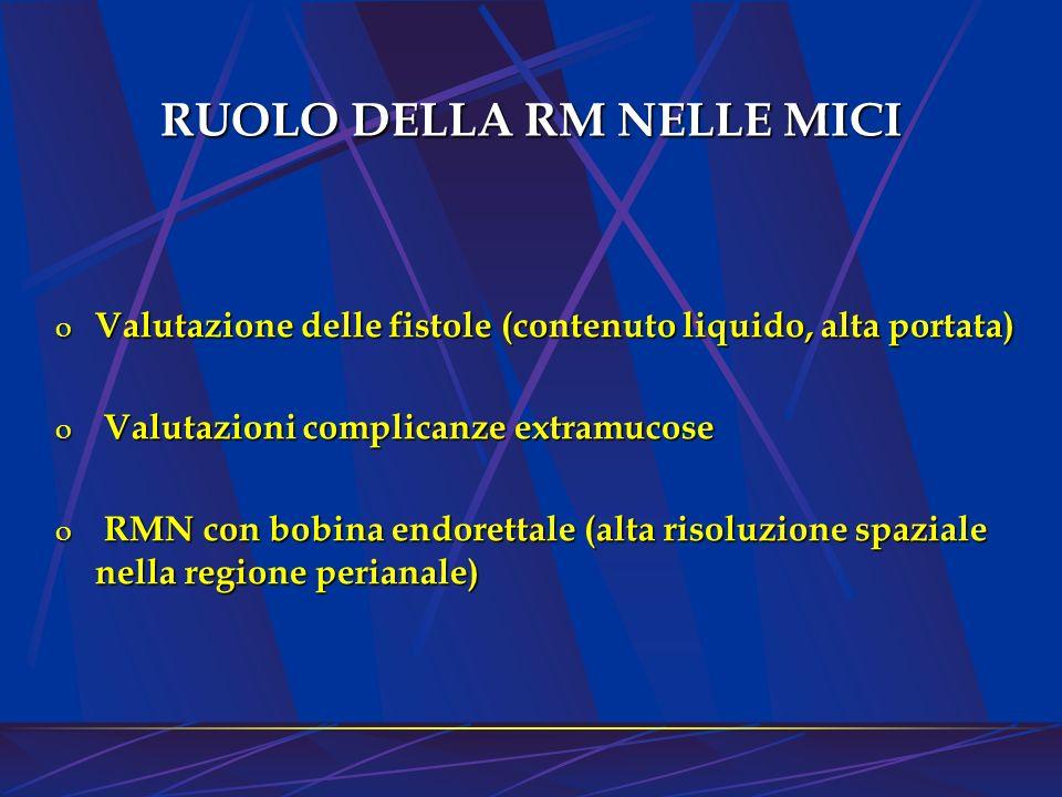 RUOLO DELLA RM NELLE MICI