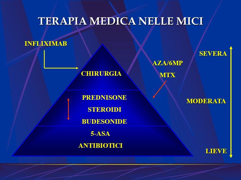 TERAPIA MEDICA NELLE MICI
