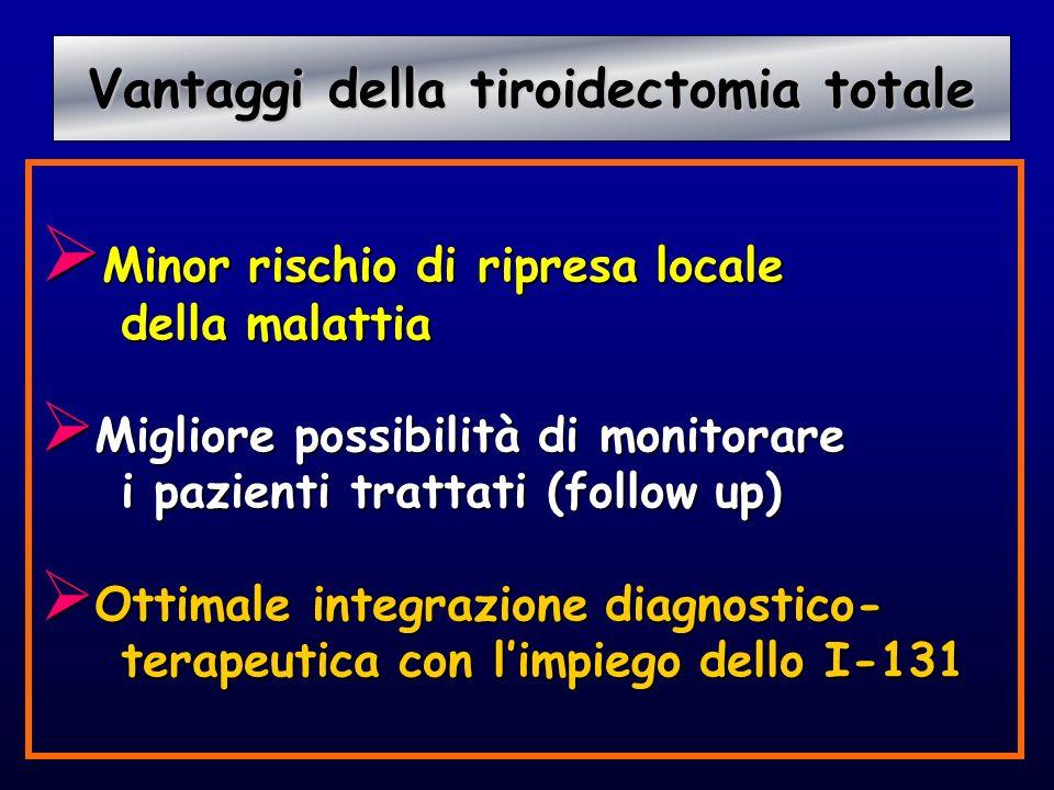 Vantaggi della tiroidectomia totale