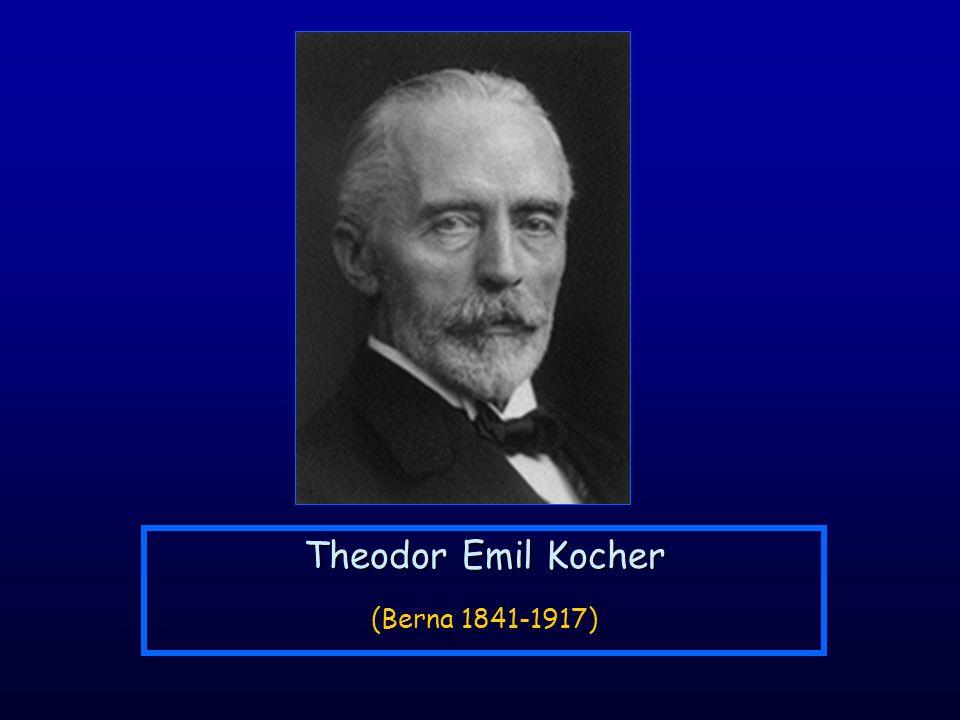 Theodor Emil Kocher (Berna 1841-1917)