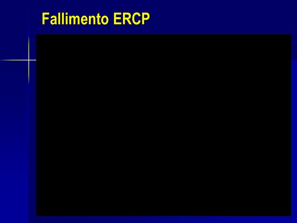 Fallimento ERCP