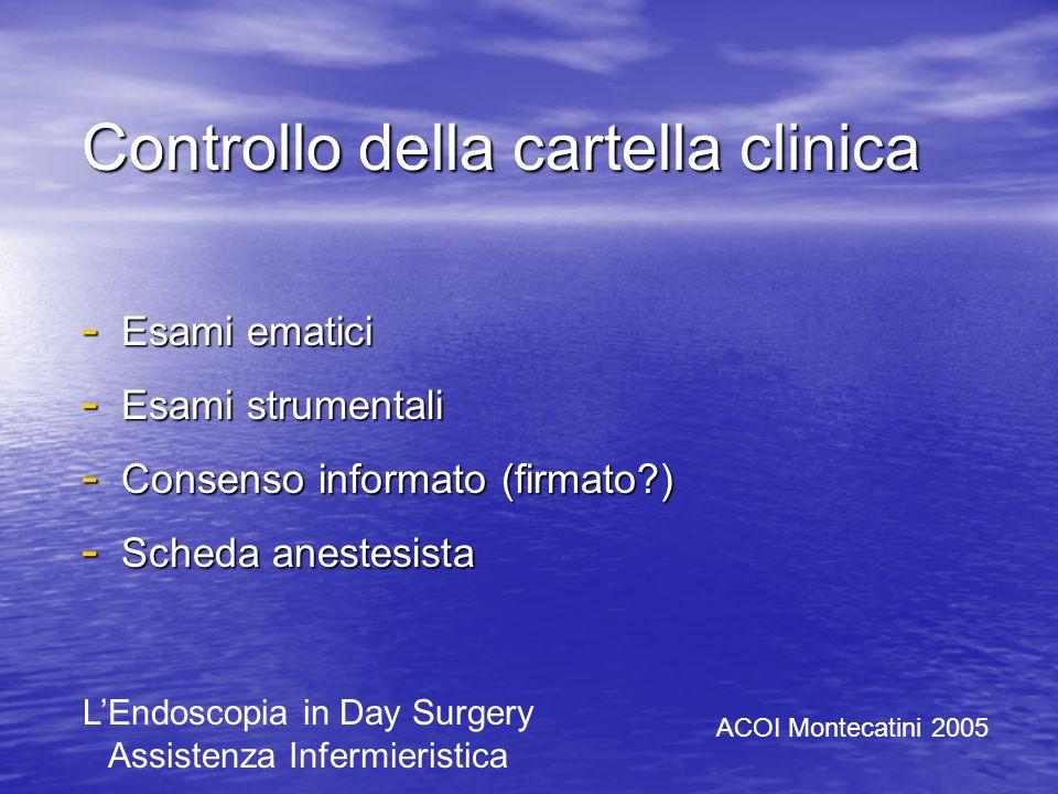 Controllo della cartella clinica