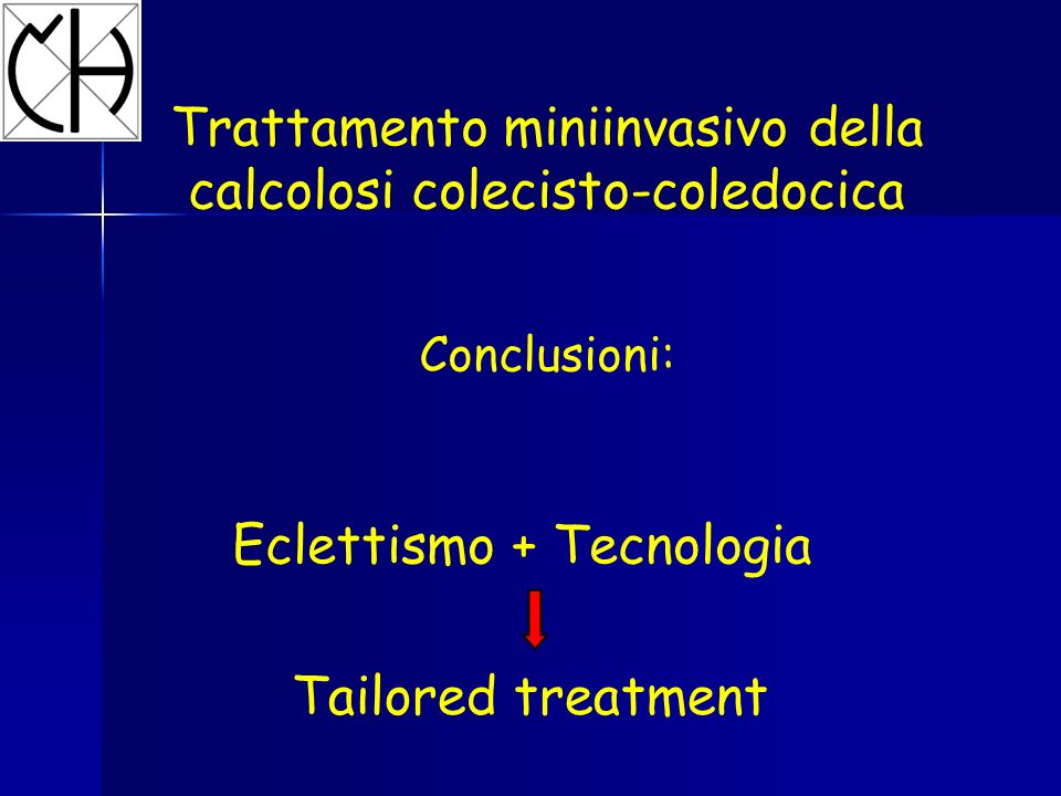 Trattamento miniinvasivo della calcolosi colecisto-coledocica