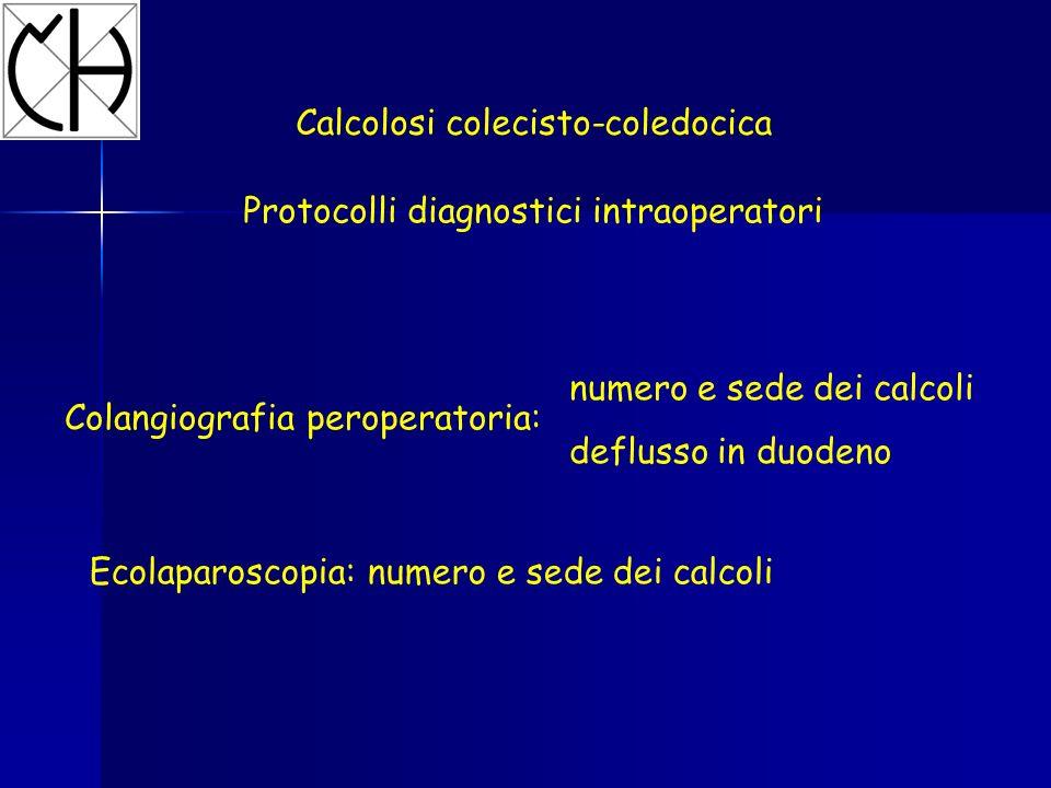 Calcolosi colecisto-coledocica