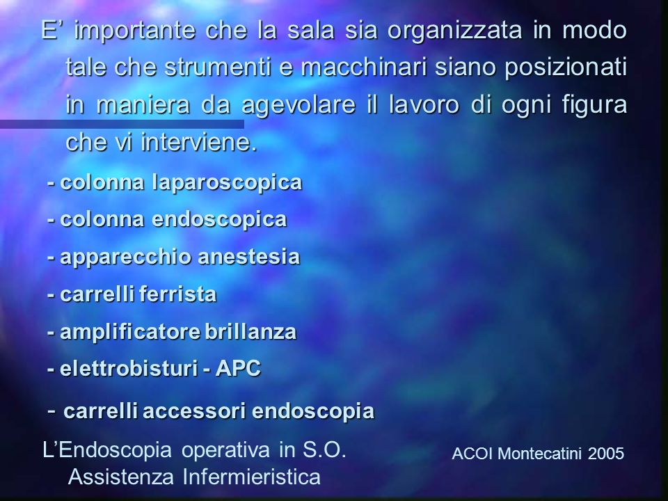 - carrelli accessori endoscopia