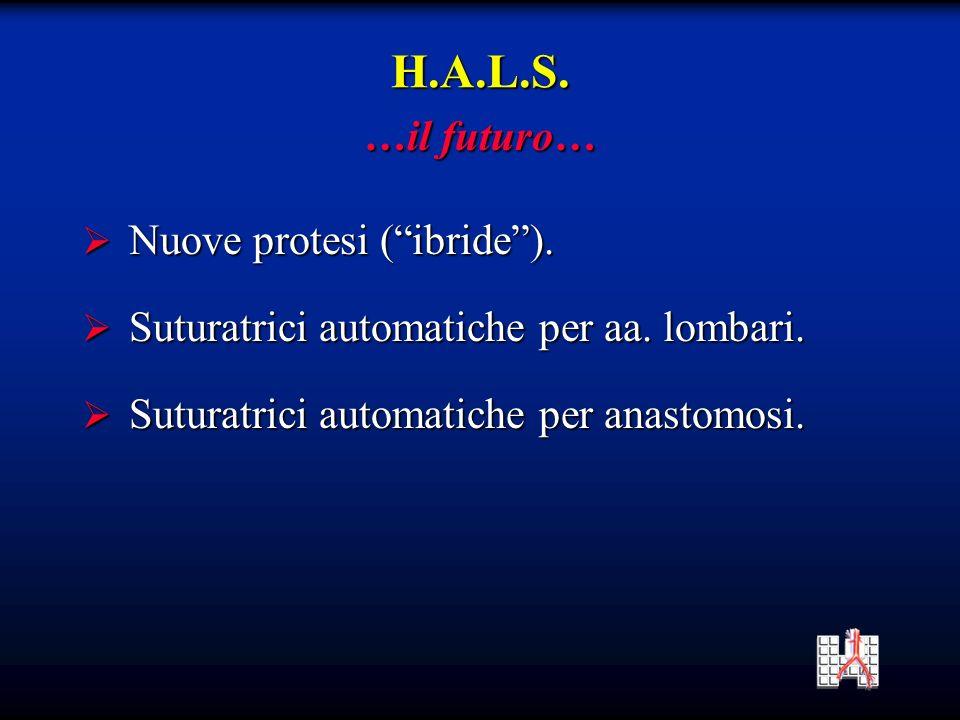 H.A.L.S. …il futuro… Nuove protesi ( ibride ).