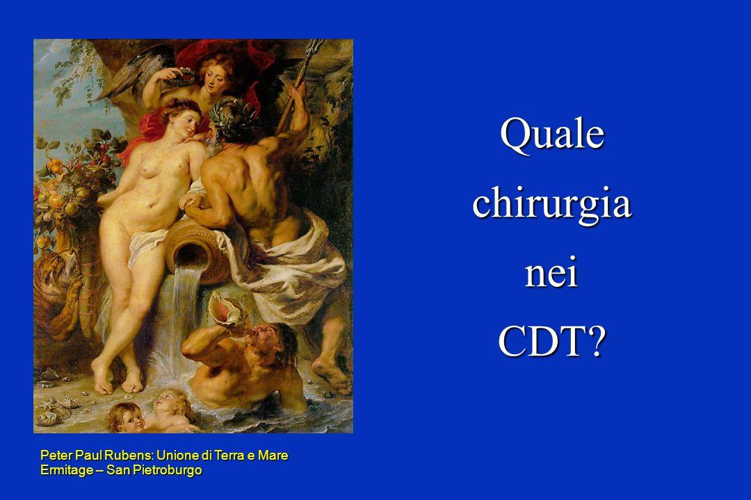Quale chirurgia nei CDT Peter Paul Rubens: Unione di Terra e Mare