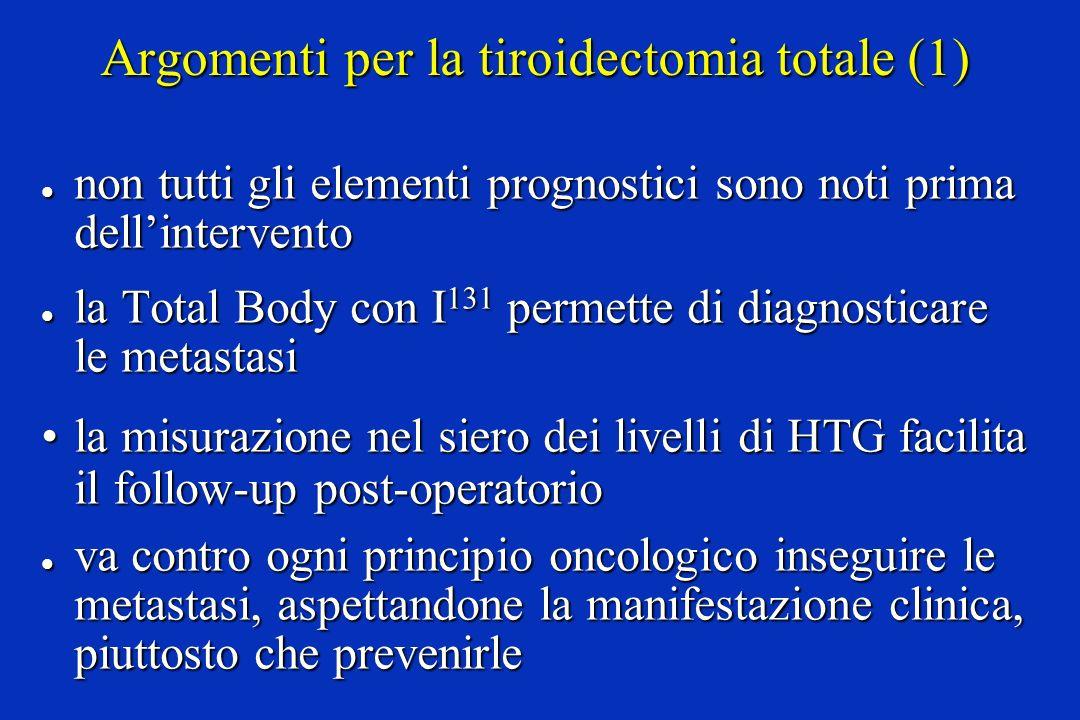 Argomenti per la tiroidectomia totale (1)