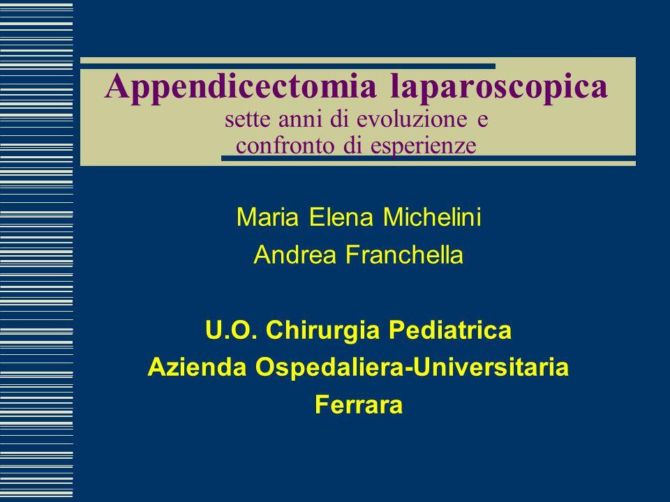 U.O. Chirurgia Pediatrica Azienda Ospedaliera-Universitaria
