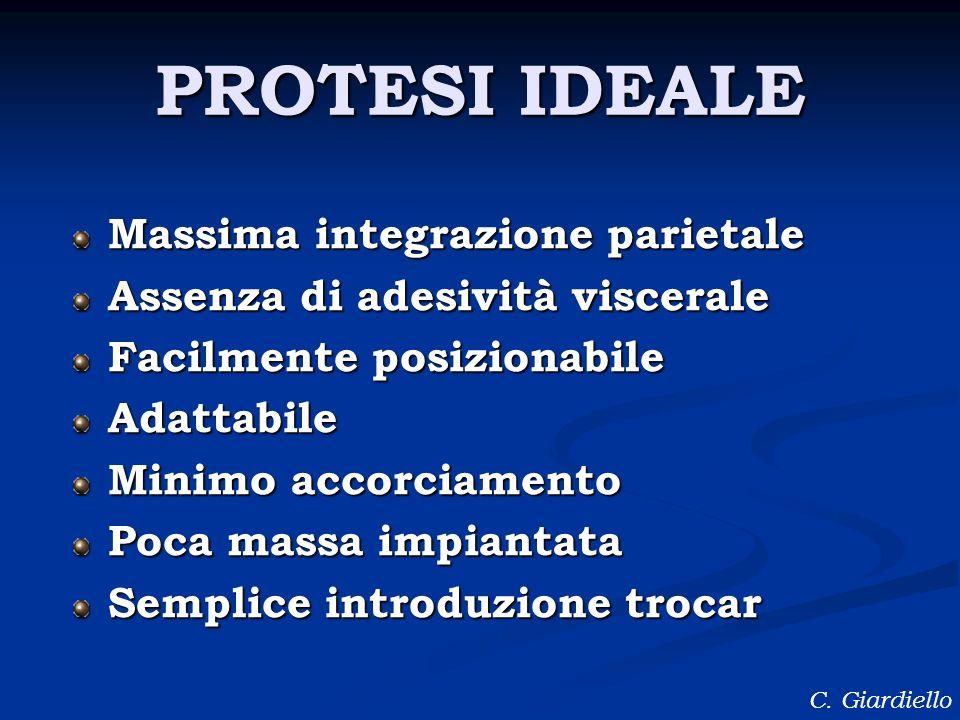 PROTESI IDEALE Massima integrazione parietale