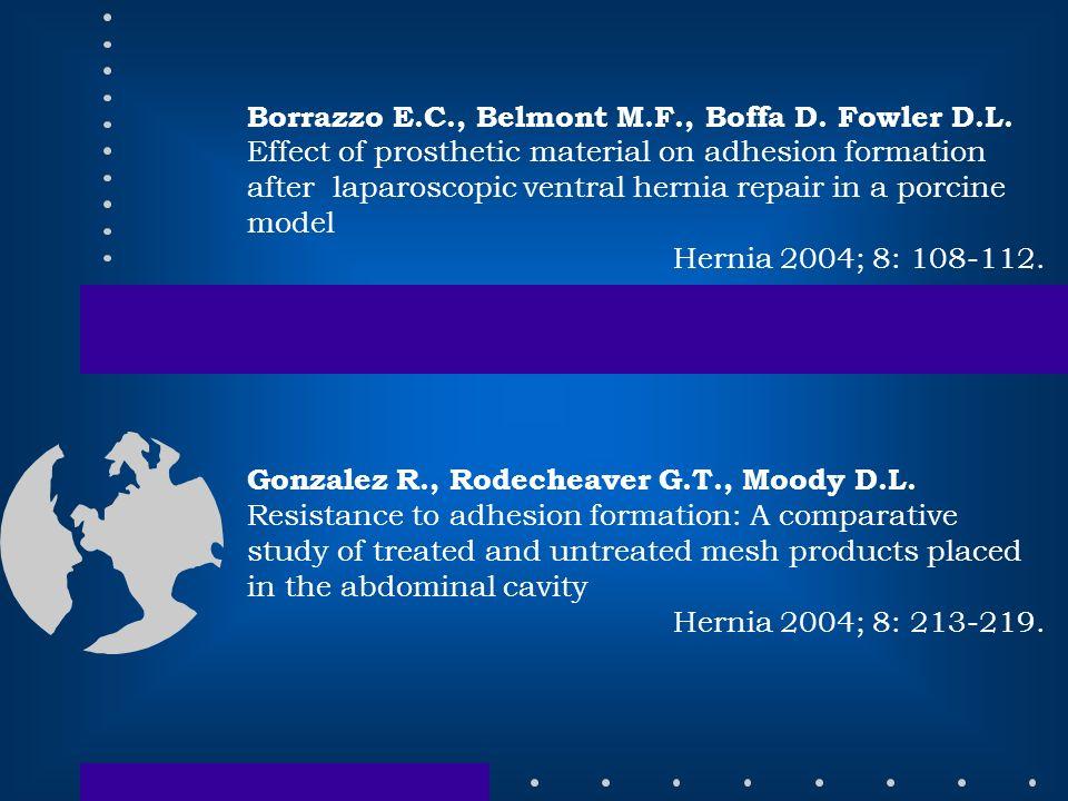 Borrazzo E.C., Belmont M.F., Boffa D. Fowler D.L.