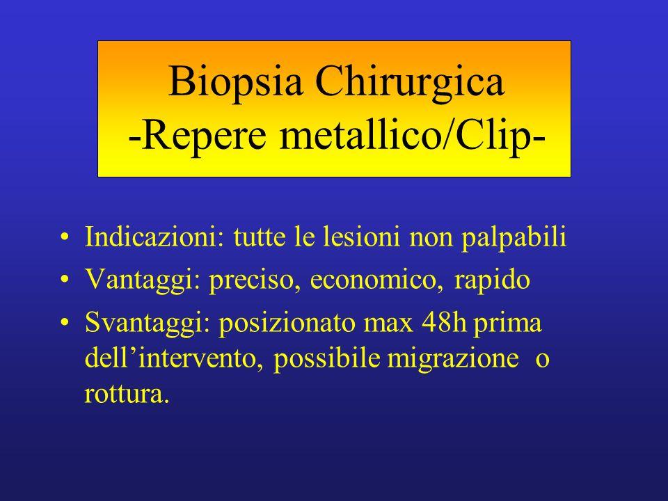 Biopsia Chirurgica -Repere metallico/Clip-