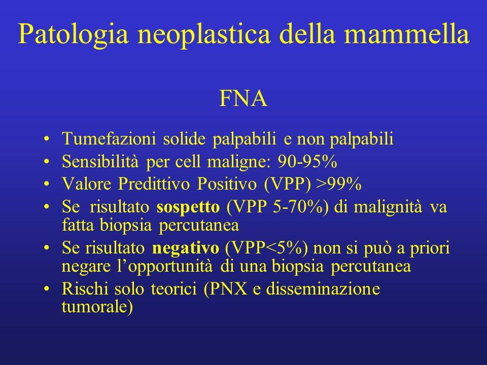 Patologia neoplastica della mammella FNA