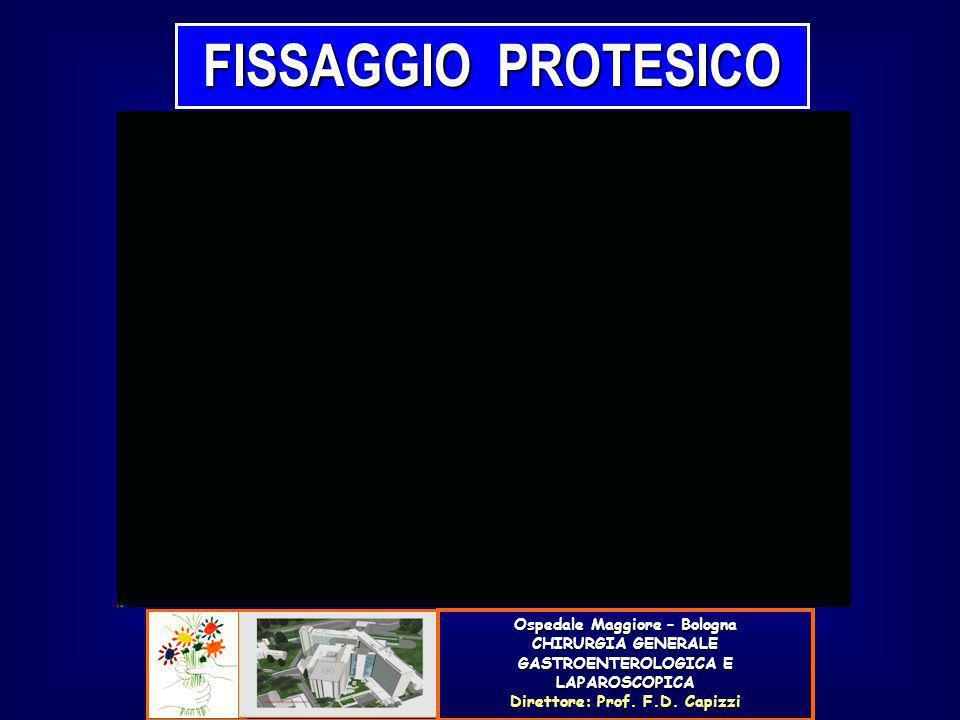FISSAGGIO PROTESICO Ospedale Maggiore – Bologna CHIRURGIA GENERALE