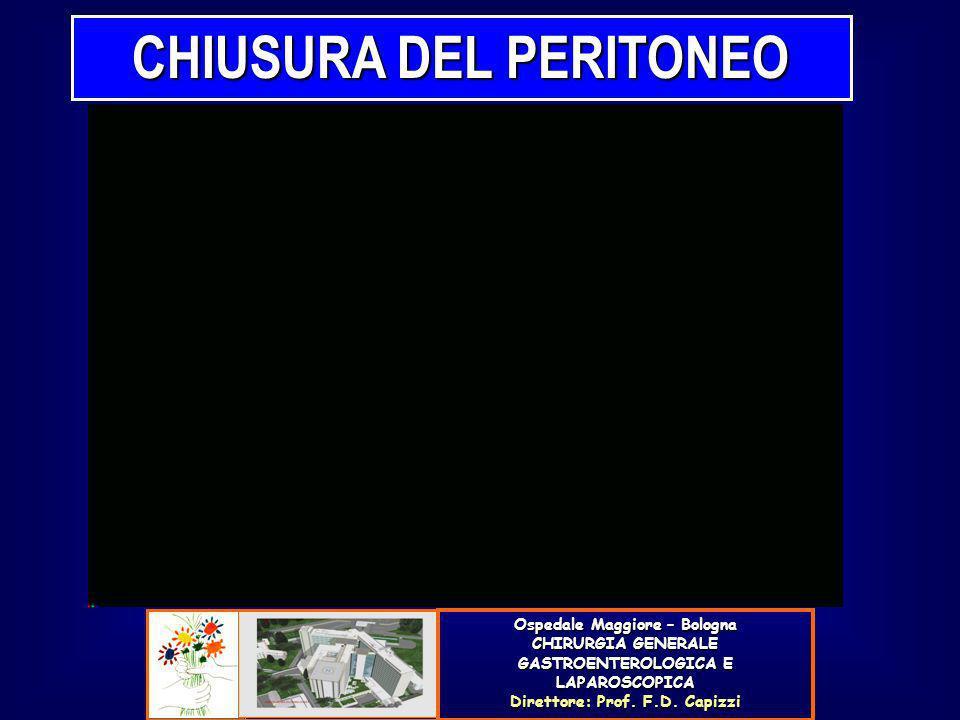 CHIUSURA DEL PERITONEO
