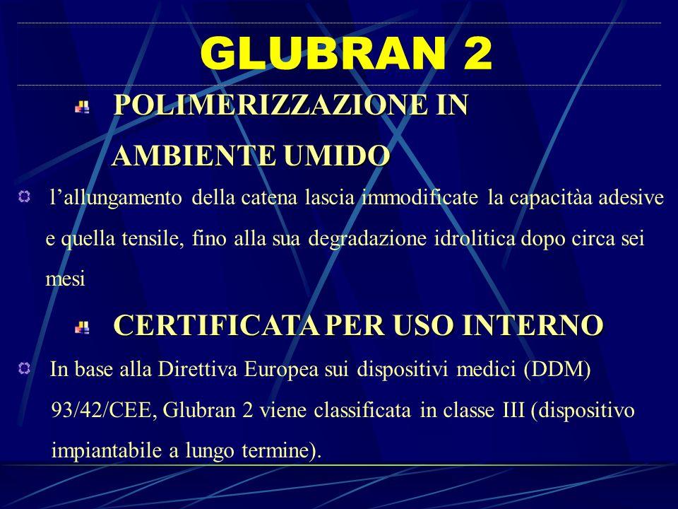 GLUBRAN 2 AMBIENTE UMIDO POLIMERIZZAZIONE IN