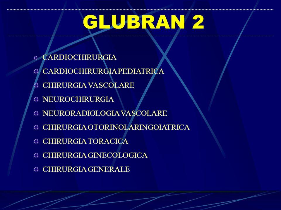 GLUBRAN 2 CARDIOCHIRURGIA PEDIATRICA CHIRURGIA VASCOLARE