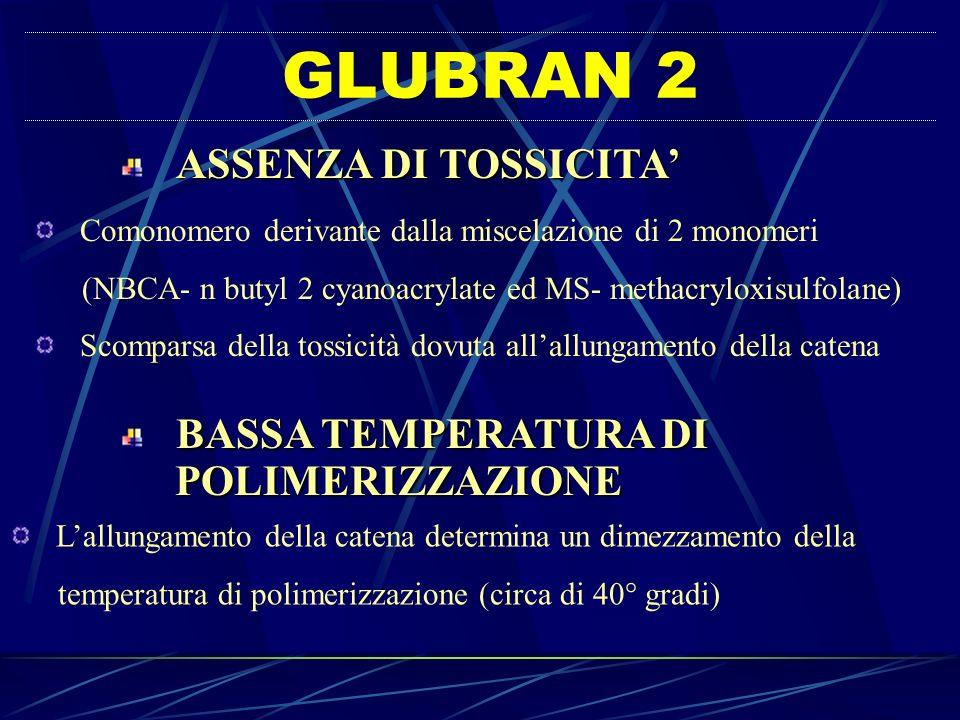 GLUBRAN 2 POLIMERIZZAZIONE ASSENZA DI TOSSICITA'